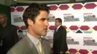 INTERVIEW Darren Criss on the event at TeenNick HALO Awards in Los Angeles CA