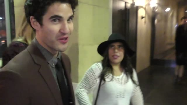 INTERVIEW Darren Criss talks about his role in American Crime Story at Coco Premiere in Hollywood in Celebrity Sightings in Los Angeles