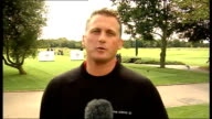 Darren Gough interview Gough interview SOT On Andrew Flintoff's return to form / On playing golf / On imminent retirement from first class cricket /...