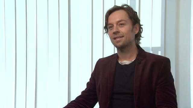 Darren Hayes on his songs narrative body of work Adele albums and more Darren Hayes Interview at The Hospital Club on February 1 2012 in London...