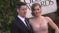 Darren Le Gallo Amy Adams at 70th Annual Golden Globe Awards Arrivals on 1/13/13 in Los Angeles CA