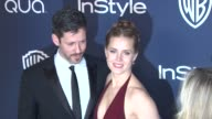 Darren Le Gallo and Amy Adams at 2014 InStyle And Warner Bros 71st Annual Golden Globe Awards PostParty at The Beverly Hilton Hotel on in Beverly...