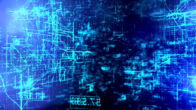 Daten-Code digitalen Technologie