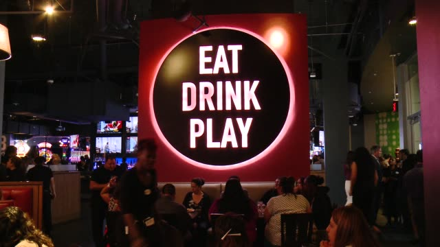 ATMOSPHERE Dave Buster's Hollywood Grand Opening VIP Event Hosted By Brody Jenner on August 21 2014 in Los Angeles California