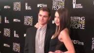 Dave Franco Alison Brie at the Sleeping With Other People Premiere at ArcLight Theatre in Hollywood in Celebrity Sightings in Los Angeles