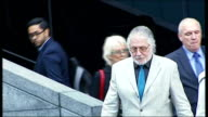 Dave Lee Travis found guilty of indecent assault court arrival ENGLAND London Southwark Crown Court Dave Lee Travis along past press photographers...