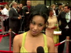 Davetta Sherwood on being at her first Emmy's what the fans are saying at the 2006 Daytime Emmy Awards at the Kodak Theatre in Hollywood California...