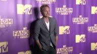 David Anders at ComicCon International 2015 MTV Fandom Awards on July 09 2015 in San Diego California