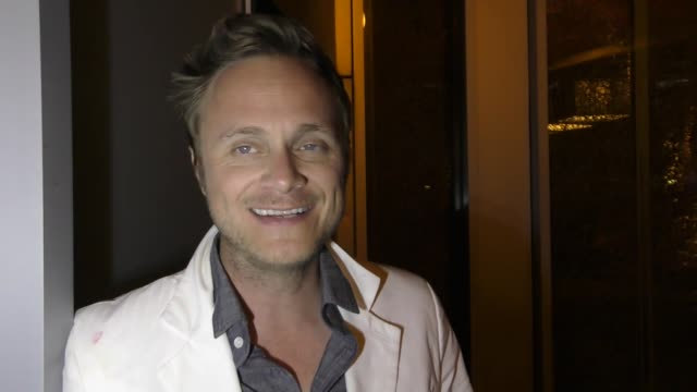 INTERVIEW David Anders on his 'iZombie' character at Celebrity Sightings at San Diego ComicCon International on July 21 2017 in San Diego California