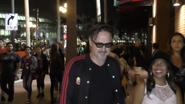 INTERVIEW David Arquette on getting kicked out of a club he owned at Celebrity Sightings at San Diego ComicCon International on July 22 2017 in San...