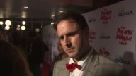 David Arquette on the event and dressing like PeeWee Herman at the 'The Peewee Herman Show' Opening Night at Los Angeles CA