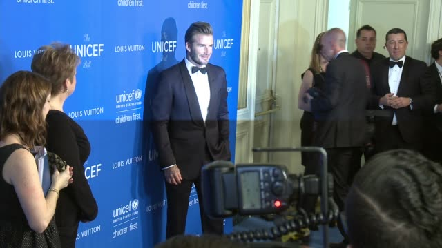 David Beckham at Sixth Biennial UNICEF Ball Honoring David Beckham and CL Max Mikias Presented by Louis Vuitton in Los Angeles CA
