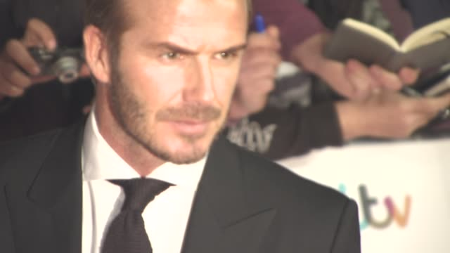 David Beckham at The Daily Mirror's Pride of Britain Awards at Grosvenor House on September 28 2015 in London England