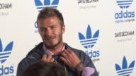 David Beckham at the David Beckham And James Bond Launch adidas Originals By Originals Line at Los Angeles CA