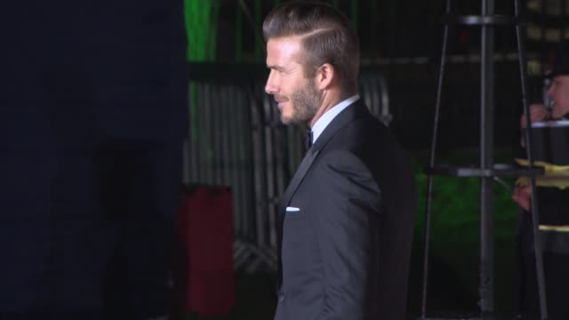 David Beckham at The Sun Military Awards at National Maritime Museum on December 10 2014 in London England