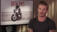 INTERVIEW David Beckham on being nervous doing the film Belstaff Films 'Outlaws' on September 21 2015 in London England