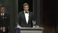 SPEECH David Beckham on his work with UNICEF being honored tonight and on the importance of the organization at Sixth Biennial UNICEF Ball Honoring...