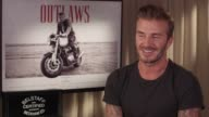 INTERVIEW David Beckham on what the family thought at Belstaff Films 'Outlaws' on September 21 2015 in London England
