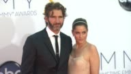David Benioff Amanda Peet at 64th Primetime Emmy Awards Arrivals on 9/23/12 in Los Angeles CA