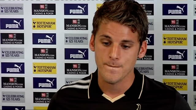 David Bentley signs for Tottenham Bentley press conference SOT Fabio Capello hasn't spoken to him about moving to bigger club to improve England...