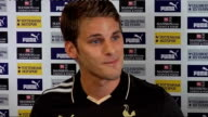David Bentley signs for Tottenham Bentley press conference SOT Believes Ramos will get best out of him/Seen and heard about what Ramos has done and...