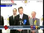 David Burrowes speech SOT Thanks his election team / This has been a truly dreadful night for Labour 024653 STUDIO Dimbleby with Robinson and Lord...