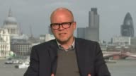 David Cameron accused of debauchery in book by Lord Ashcroft ENGLAND London GIR INT Toby Young 2WAY interview from central London SOT / Isabel...