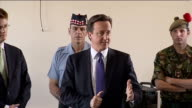 David Cameron and Danny Alexander visit Black Watch Regiment David Cameron MP speaking to soldiers SOT Great to be here with Danny Alexander / thank...