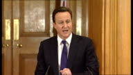 David Cameron and Nick Clegg joint press conference David Cameron press conference SOT Let me turn to what this coalition has done this year / what...