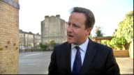 David Cameron and Nick Clegg visit Brixton school EXT government will have to cut spending departments they aren't spending up to their budgets can...