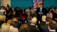 David Cameron attends PM Direct event in Maidenhead David Cameron QA session SOT [Re businesses which directly lend to businesses] Sounds an...