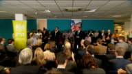 David Cameron attends PM Direct event in Maidenhead ENGLAND Berkshire Maidenhead INT David Cameron MP arriving and into meeting introduction by Oli...