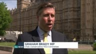 David Cameron Cabinet reshuffle Graham Brady MP interview SOT we have lot of talent experience and knowledge on backbenches / have some very good new...