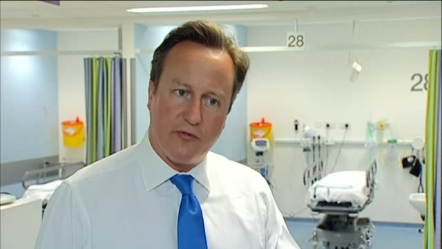 David Cameron commenting on the duty of care for the elderly