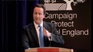 David Cameron gives speech to Campaign To Protect Rural England National government has encouraged local government to behave the same way with...