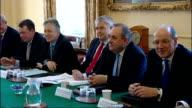 David Cameron meets devolved administration leaders at Downing Street ENGLAND London 10 Downing Street PHOTOGRAPHY** Various shots of David Cameron...