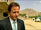 David Cameron meets local businesswomen in Kabul David Cameron MP interview SOT Afghanistan has been cradle of terrorism / succeeding here is...