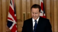 David Cameron monthly press conference Questions re speaking to Linda's family suicide vests Cameron SOT this morning my office was contacted by...