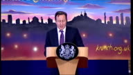 David Cameron pledges half a billion pounds to tackle problem of broken families Cameron speech SOT Success has been judged by how much is spent on...