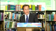 David Cameron pledges redistribution of power from Westminster Cameron speech SOT Today I am making clear big change and new politics is what people...