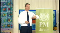David Cameron 'PM Direct' session in Newquay David Cameron QA session continued SOT How to reach young people in rural area who are not working or in...