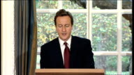 David Cameron press conference on spending / economy David Cameron MP press conference continued SOT This longterm economic strategy of sharing the...