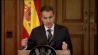 David Cameron press conference Spanish Prime Minister Jose Zapatero So we've talked about Oslo we've also had time during our meeting to talk...