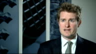 David Cameron promises to protect schools budget if Conservatives win general election Hunt interview ENGLAND London Westminster INT Tristram Hunt MP...