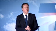 David Cameron speech at Conservative Local Government Conference David Cameron speech SOT And let's be clear about the choice at this election Five...