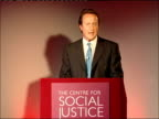 David Cameron speech at the Centre for Social Justice Let me start by saying something about a part of the world I know well / You heard earlier from...