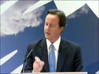 David Cameron speech on equal pay and economic stability David Cameron MP speech SOT Career choices / Different levels of education / The need many...