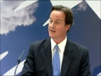 David Cameron speech on equal pay and economic stability David Cameron MP speech SOT Banks should be more transparent with their customers too...