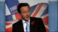 David Cameron speech on exporting and growth Cameron speech SOT I've lost count of the number of times people working in our small businesses have...