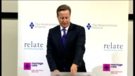 David Cameron speech on family Cameron speech SOT But parents don't just need flexible leave they need help and advice too Health visitors are...